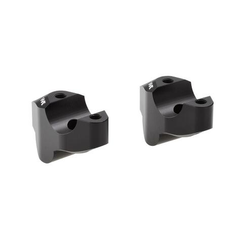 Handlebar risers 30mm with offset 19mm for KTM 690 SMC R...