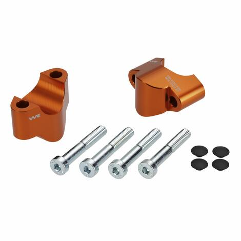 Handlebar risers 25mm for KTM 690 SMC R und Enduro R 2019-