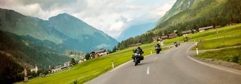 Motorradfahren geniessen...